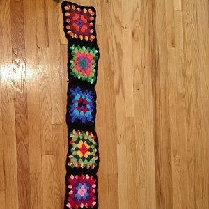 Vintage handmade scarf
